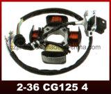 中国Cg125のオートバイの磁石コイルのオートバイの予備品