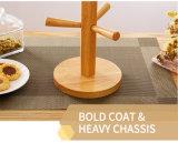 최신 판매 부엌 대나무 나무로 되는 건조용 컵 선반