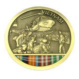 Moneta militare del ricordo dell'oro antico promozionale 3D (Ele-C118)