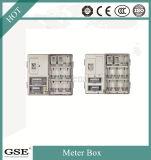 Fase monofásica uma caixa do medidor (porta dobro)