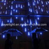 LED 74см двойные боковые снегопадов LED Метеор душ фонари для проведения свадеб оформление