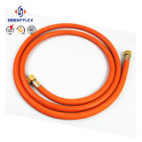PVCファイバーオーブンのガスこんろのための編みこみのLPGのガスのホース