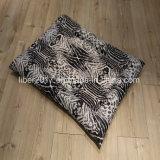 얼룩말 패턴 장방형 애완 동물 매트리스 개 매트 마루 침대