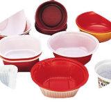 Guter Preis-Frucht-Tellersegment-Nahrungsmittelplastikbehälter, der Maschine bildet