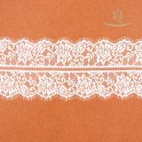 Оптовой шнурок 100% полиэфира тканья вышитый тканью для Bridal