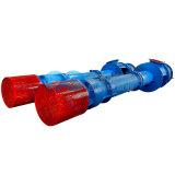 Bomba centrífuga da água industrial vertical da turbina