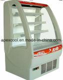 Bebidas Chiller aberto para o mercado Super fabricados na China