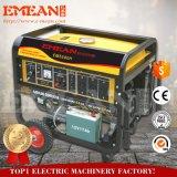 générateur Hanles d'essence de la rappe 8kVA 4 et roues (8000CE)