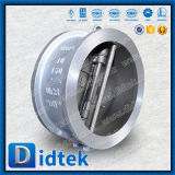 Didtek API 6D Wcb двойной пластину полупроводниковая пластина клапана