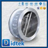 Didtek API 6D Wcb Doppelplatten-Oblate-Rückschlagventil