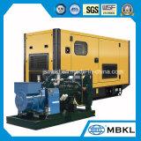 Preiswerte Generatoren des Preis-250kVA/200kw angeschalten durch DoosanDieselmotor mit leisem Kabinendach