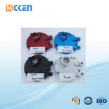 Pezzi meccanici anodizzati rossi di CNC dell'alluminio di alta qualità dell'OEM Cina