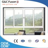 Aluminiumfenster mit SGS schiebend, genehmigte für Handels- und Wohngebäude