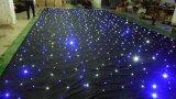 結婚披露宴のための多彩なライトが付いているLED/RGBの星のカーテン