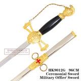 As Cruzadas Espada Knight Espada Espada de cerimónias oficiais militares espada 96cm HK9012g