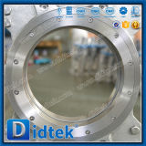 Patte Didtek poids léger de type via le conduit la vanne de couteau à pression pneumatique