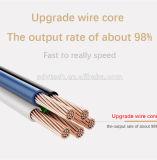 최신 판매는 금속 연결관에 의하여 땋아진 USB 비용을 부과 케이블을 도매한다