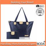 مصمّم نساء حقيبة يد مع محفظة داخليّة نساء [شوبّينغ بغ] ([بدإكس-171120])