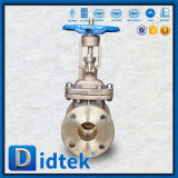Soupape à vanne de l'acier inoxydable CF3m de bride de volant de commande de Didtek pour la raffinerie