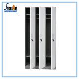 Kleidungs-Speicher sondern 3 Tür-Metalschließfach-Schrank aus
