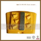 PCD алмазные шлифовальные HTC пластина для эпоксидным покрытием снятие
