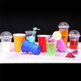 使い捨て可能で明確なプラスチックペット党ジュースのコップの飲み物のコップ