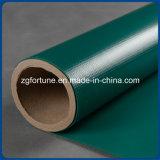 Tessuto rivestito della tela incatramata del PVC di verde impermeabile di alta qualità, tela incatramata del PVC