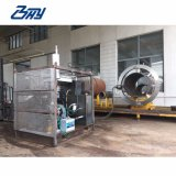 Bâti de fractionnement/découpage hydraulique portatif OD-Monté de pipe et machine taillante (SFM0206H)