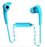 Sport Bluetooth Earphone Wireless Phone Call, Adjustable Music, Song Last and Pre Button for iPhone, Computer, iPad and Smartphone and Andorid Phone