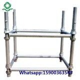 Het Systeem van de Steiger van Cuplock van het Staal van de bouw