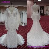 Мантия 2018 шарика -Плеча плюс платья венчания размера Bridal