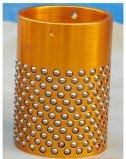 Guía de color blanco de la jaula de bola de retén de plástico, el rodamiento de bolas jaula de plástico, la bola jaula para juegos de troquel con POM OEM
