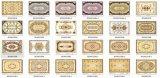 Manufactory del cristal Polished de oro en China (BDJ60289-1)