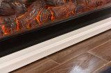 Cheminée électrique de Rooml des meubles TV de chaufferette vivante en bois européenne de stand