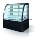 Sorvetes vitrina de bolos/Bolo de sorvete/Mostrador vitrina