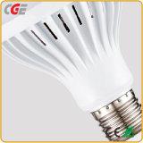 As lâmpadas de lâmpadas LED 3W//5W/7W/9W/12W/18W luz LED de iluminação LED plástico lâmpada LED