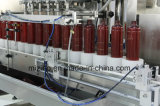 Precio de fábrica 12 boquillas champú automática Máquina de Llenado