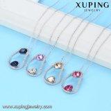 44172 Xuping Ha diseñado nuevos cristales de Swarovski Arabia joyas de oro collar