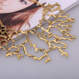 최신 판매 형식 산호 메시 금속 스웨터 목걸이 N027