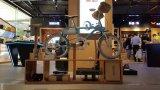 取り外し可能な電池が付いている20インチのアルミニウムフレームの電気自転車
