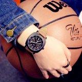 Men's Quartz Luminous H341昇進のスポーツのステンレス鋼の背部方法女性腕時計