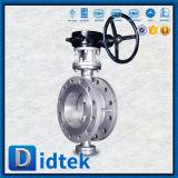 Didtek CF8m Dreiergruppen-Offsetoblate-Drosselventil