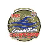 Silberne Meisterschaft-Sport-Medaillen-Aufhängung