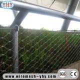 ステンレス鋼手によって編まれるロープの網