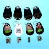 13.56MHz RFID pvc FM08 EpoxyKeyfob voor het Beheer van de Loyaliteit van de Supermarkt
