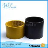 Gelbes PTFE Teflongefäß-Rohr-/PTFE-Gefäß