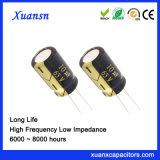10UF 63V Elektrolytische Condensator 6000hours met lange levensuur