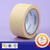 Amarillo blanco cinta de enmascarar de papel crepé cinta de papel