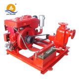 Pompe à eau encrassée de moteur diesel de pompe à eau d'égout d'amoricage d'individu d'Azw