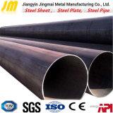 Tubo de acero de carbón para la sección hueco redonda del material de construcción de la construcción